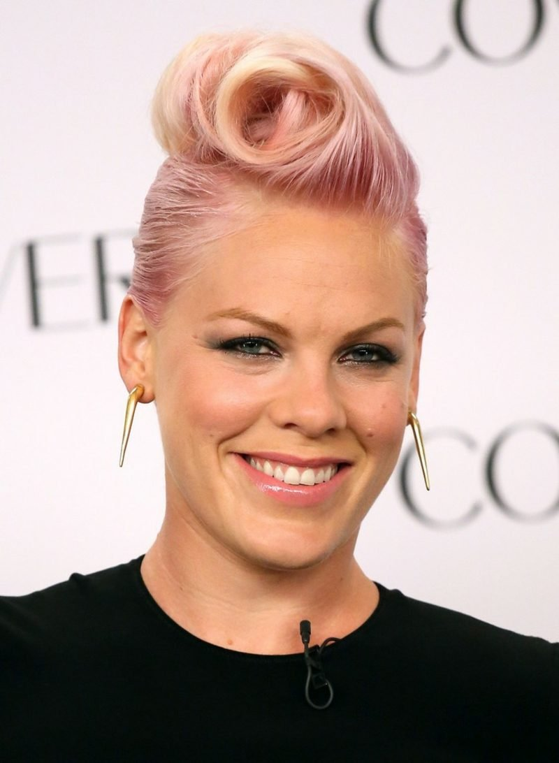 pastellrosa Haare färben Pink