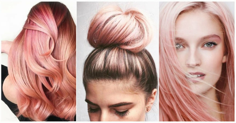 Pastel Pink Dyeing Hair The Eye Catcher For Summer 2018