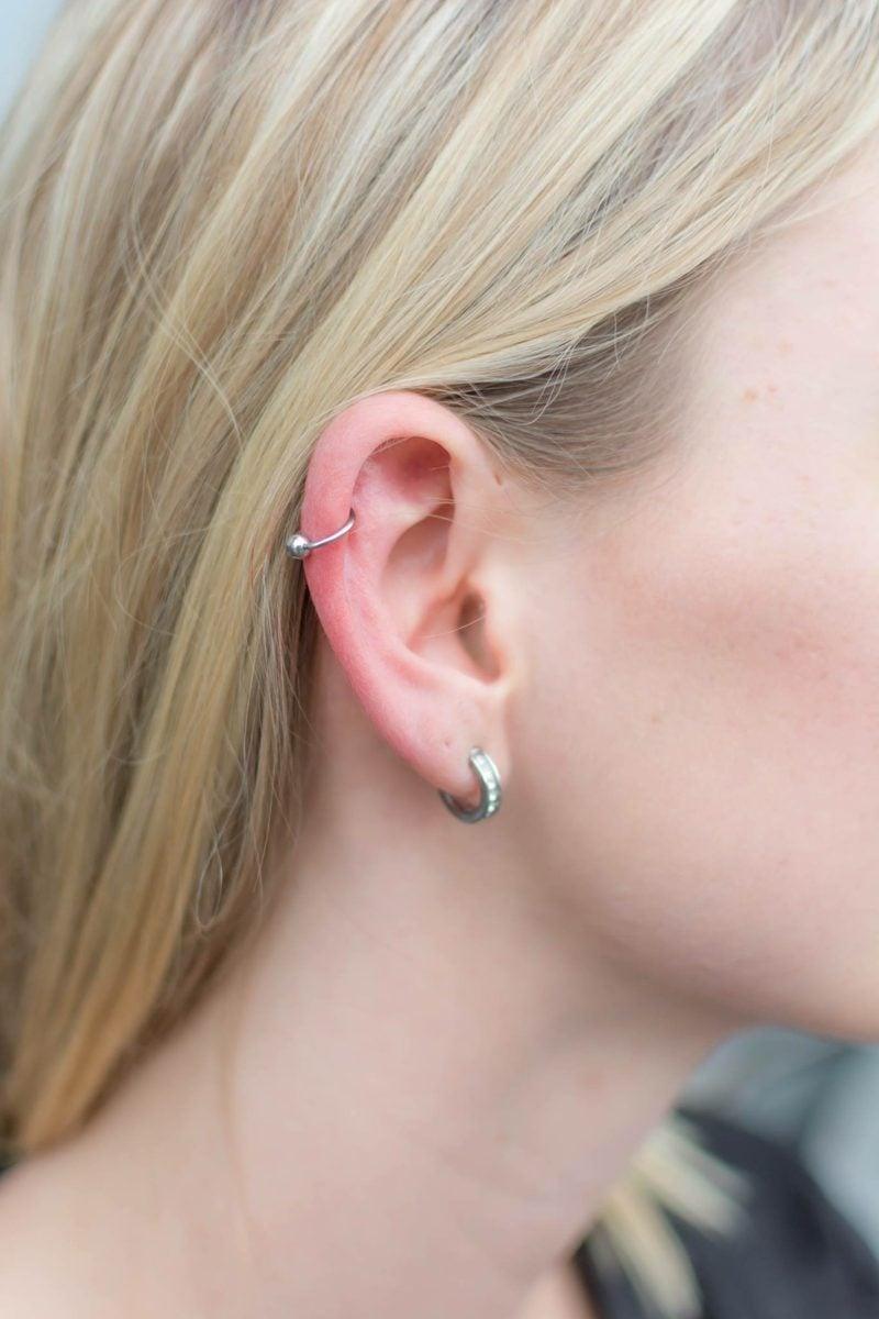 Helix Piercing einfacher Ring