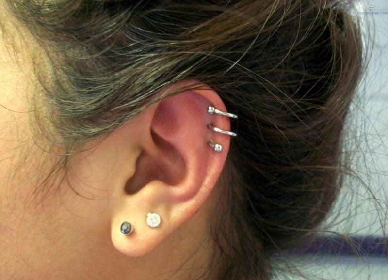 Helix Piercing Ringe toller Look