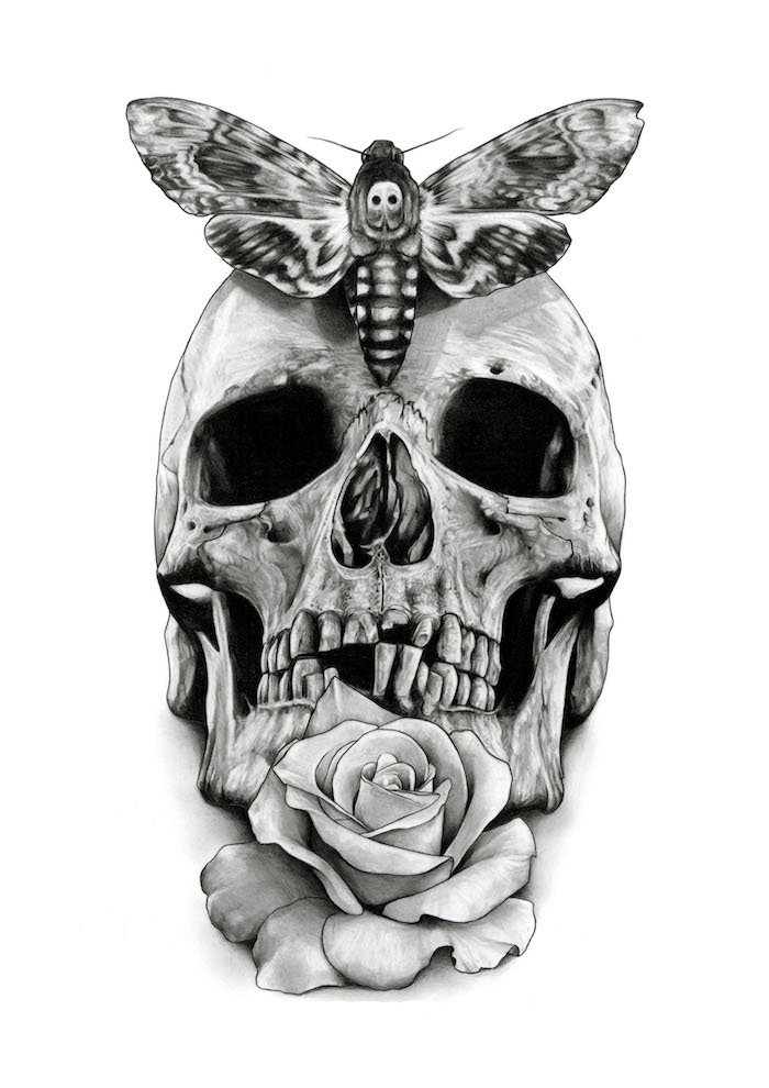 Pin Auf Tattoo Designs Unique Skulls