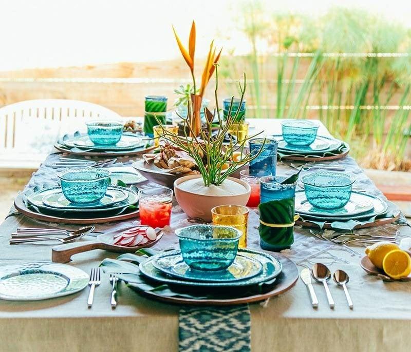 Bastelideen für Erwachsene Party Deko maritim Tisch