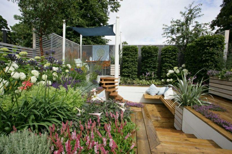 Gartengestaltung modern Pflanzenarten auswählen