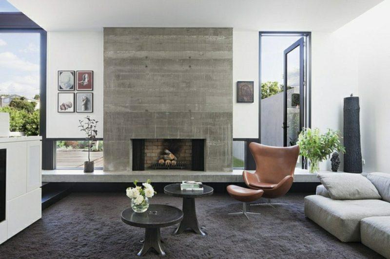 Wohnzimmer gestalten grau weiβ moderne Ideen und Anregungen