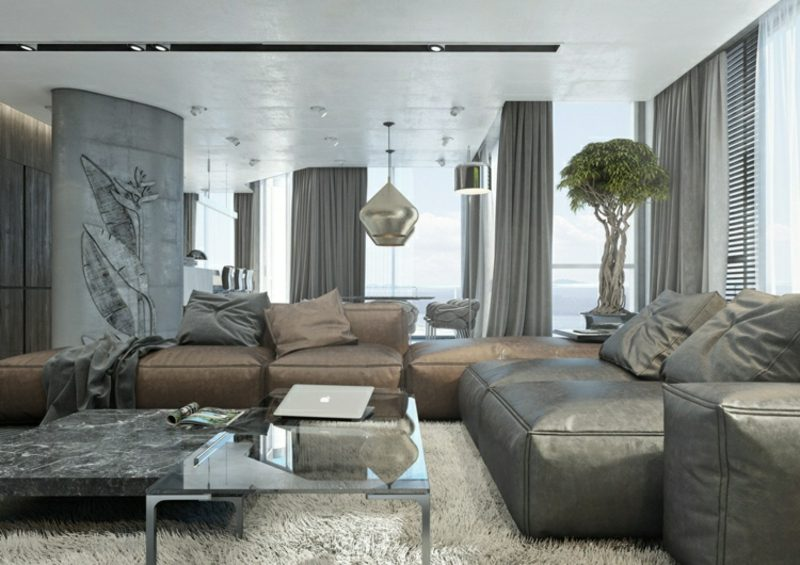 wohnzimmer gestalten grau wei tolle designl sungen in neutralen t nen. Black Bedroom Furniture Sets. Home Design Ideas