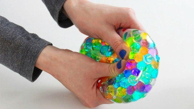 Antistressball selber machen wirkungsvoll Entspannung