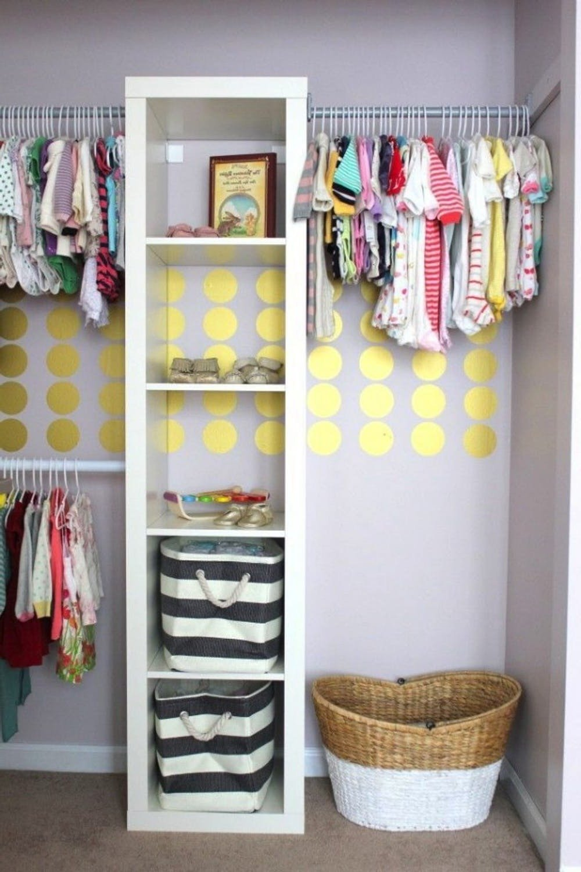Babyzimmer komplett einrichten - genug Stauraum und genug Platz für Spielen