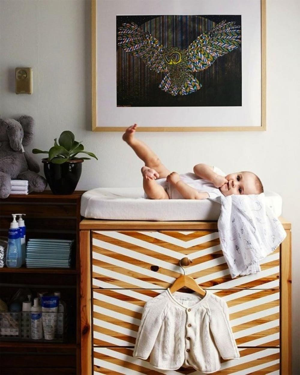 Babyzimmer komplett einrichten mit Ikea Hacks