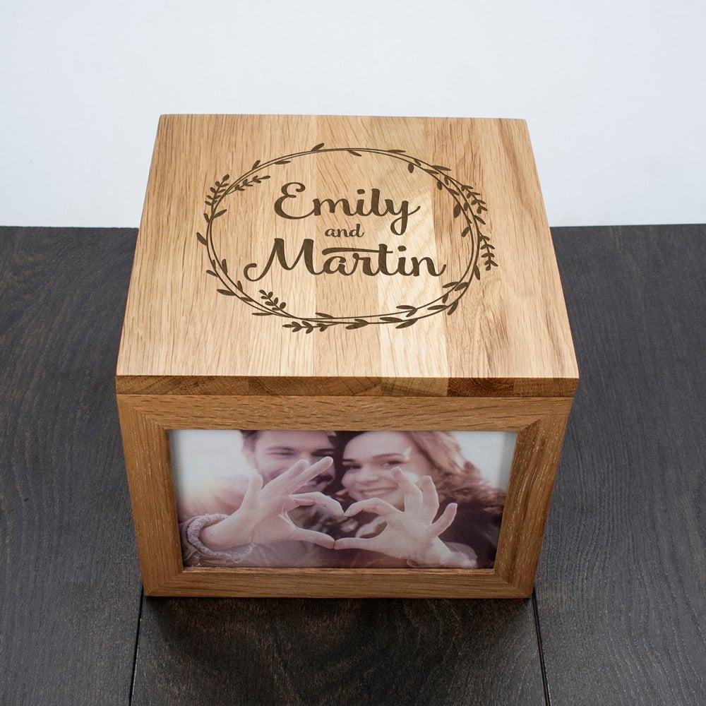 DIY Holzrahmen mit Bildern - DIY Hochzeitsgeschenk für diamantene Hochzeit