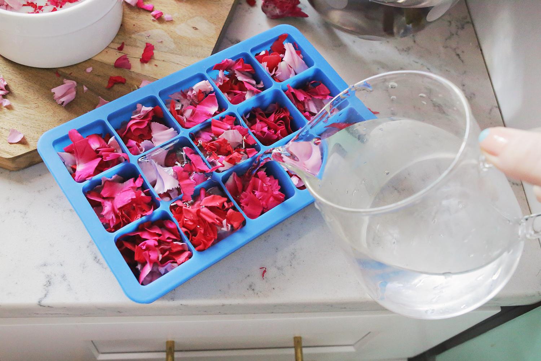 Welche ist der destiliertes Wasser Gefrierpunkt beim Eiswürfel selber machen?