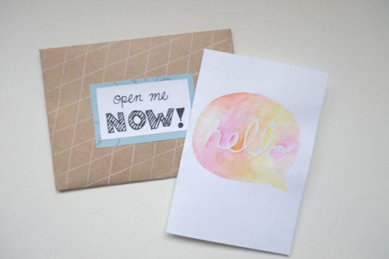 Ӧffne mich wenn Briefe erster Brief