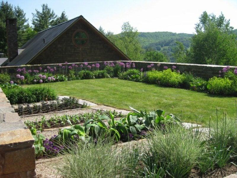 Gartengestaltung modern Obst und Gemüse anbauen
