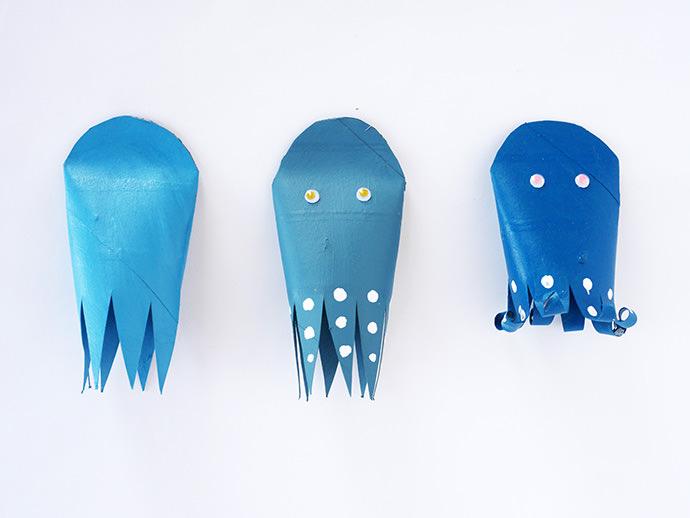 Ideen Für Klopapierrollen Basteln Mit Kindern: Kreieren Sie Wunderschöne  Oktopoden