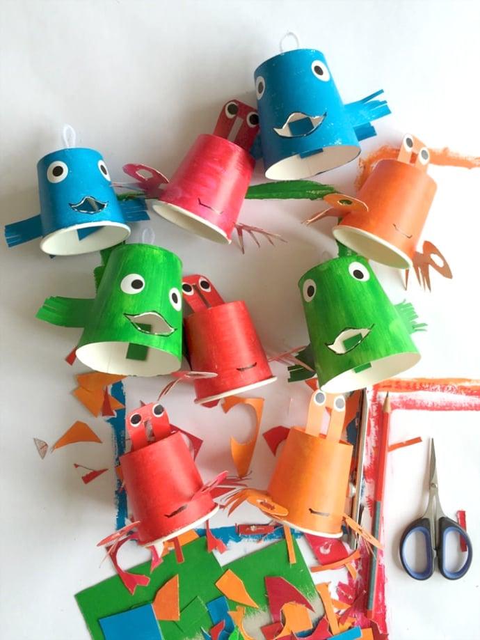 Viele Wunderschöne DIY Ideen Für Das Thema Unterwasserwelt Im Kindergarten