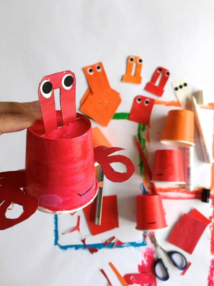 Tolle Bastelideen für das Thema Unterwasserwelt im Kindergarten