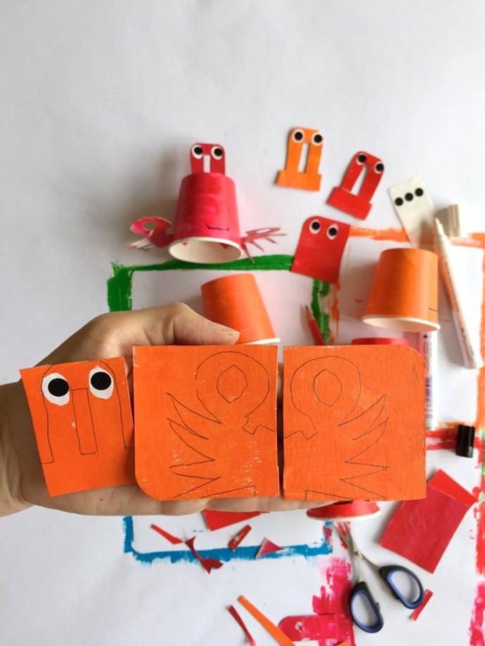 Viele wunderschöne Bastelideen für das Thema Unterwasserwelt im Kindergarten