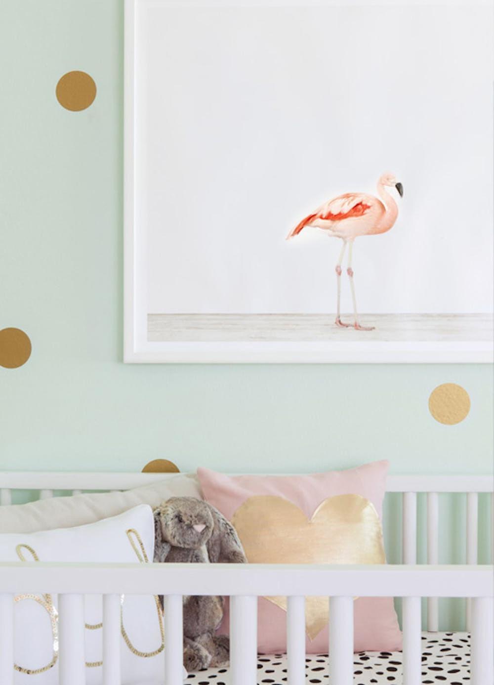 Babyzimmer Flamingo Deko Ideen
