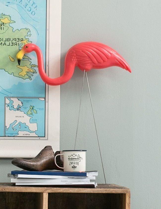 Flamingo Deko Arbeitszimmer