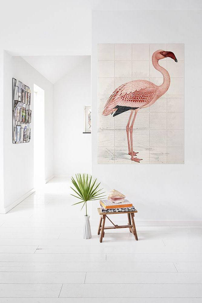 Flamingo Wanddeko Wand Tattoo