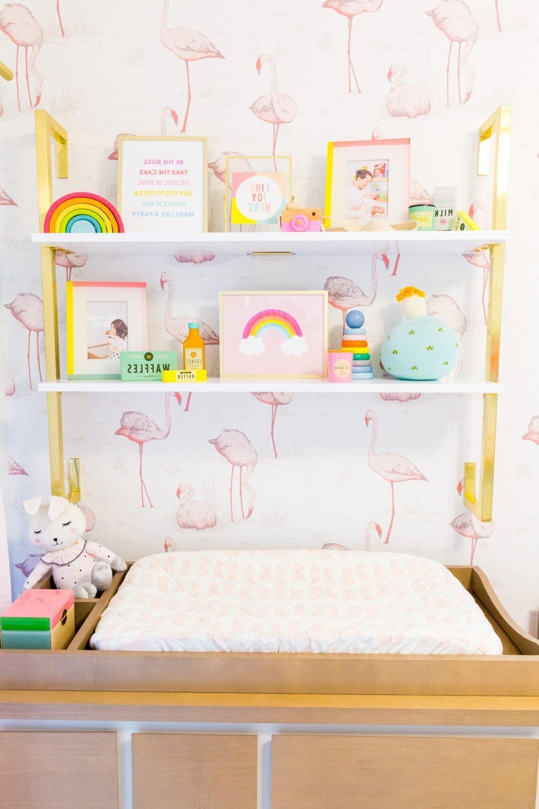 Flamingo als Dekoration fürs Babyzimmer - die perfekte Wahl für Ihr kleines Mädchen