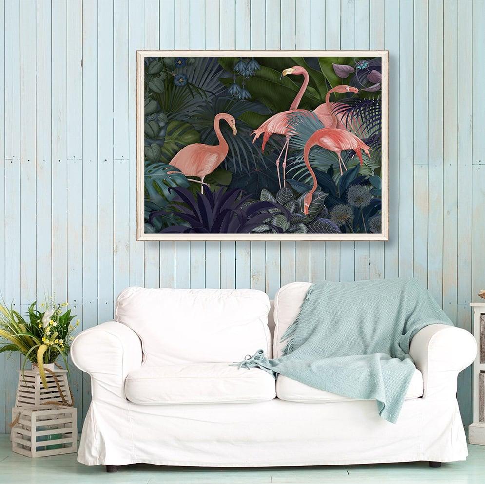 Flamingo Deko macht Ihr Zuhause farbenfroh!