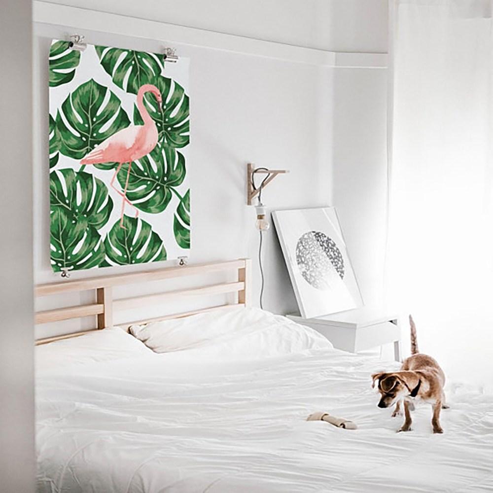 Flamingo Wanddeko Schlafzimmer