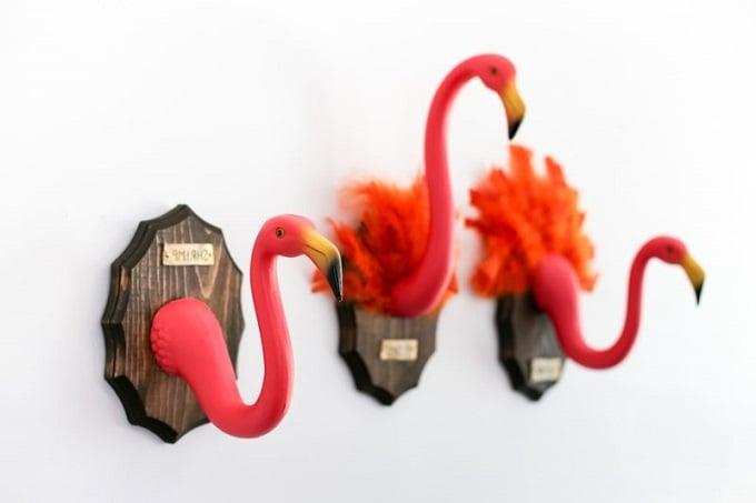 Flamingo Wanddeko Flur