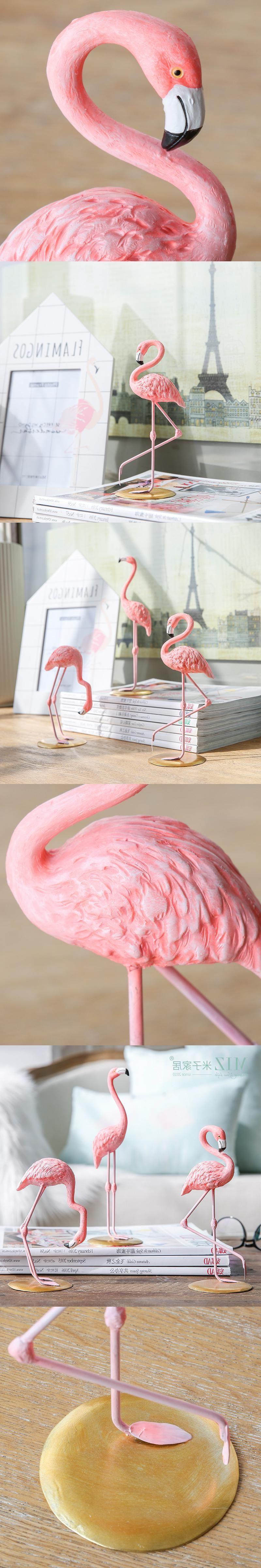 Flamingo Deko Ideen für Wohnzimmer Einrichtung