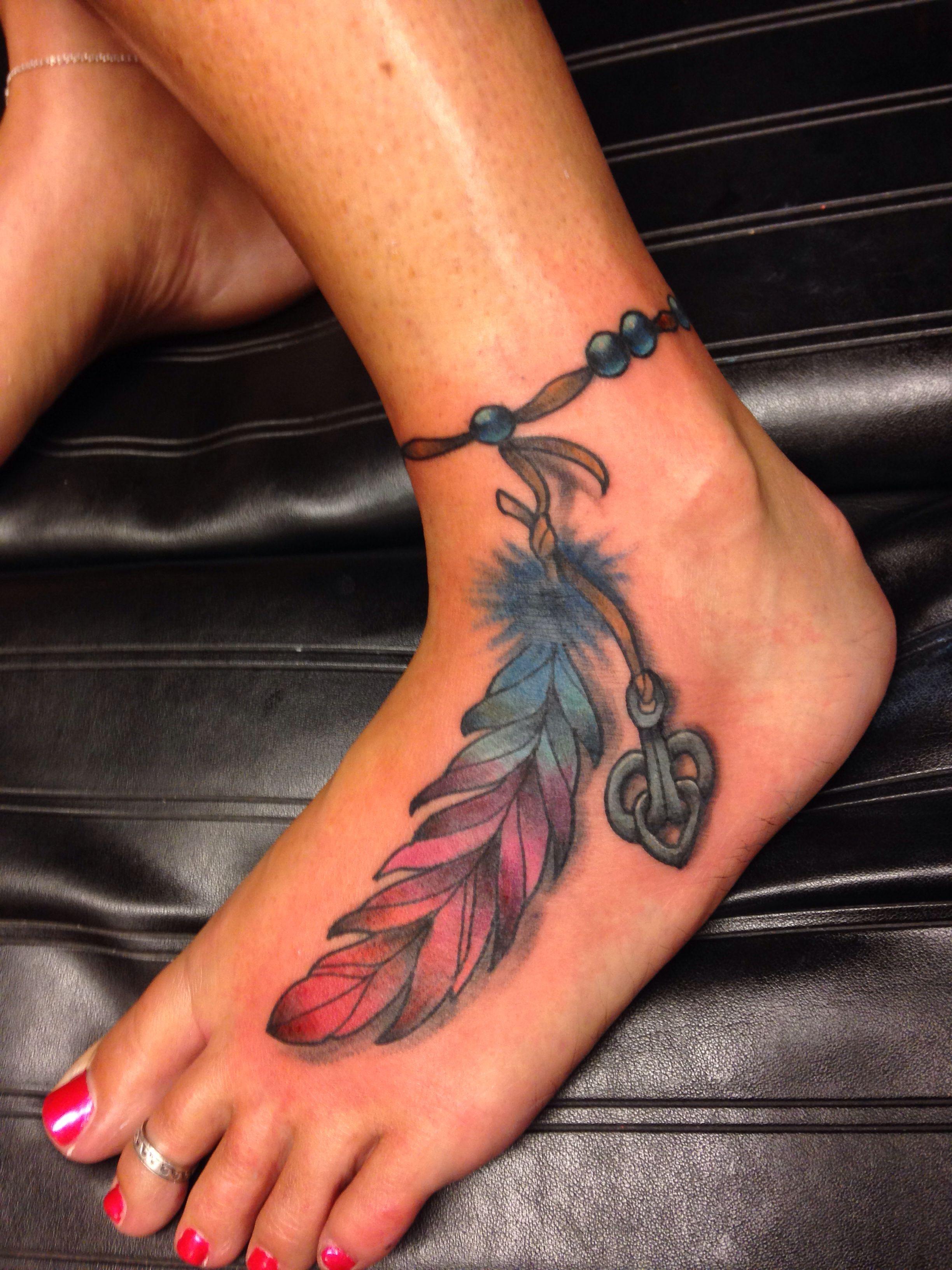 Schöne Tattoo Motive Feder