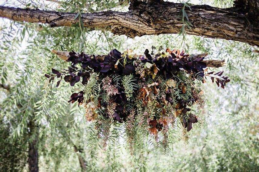 Hängende Deko für Hochzeit - Hängende Vintage Blumen wirken zauberhaft, sanft und edel und schaffen eine märchenhafte Atmosphäre