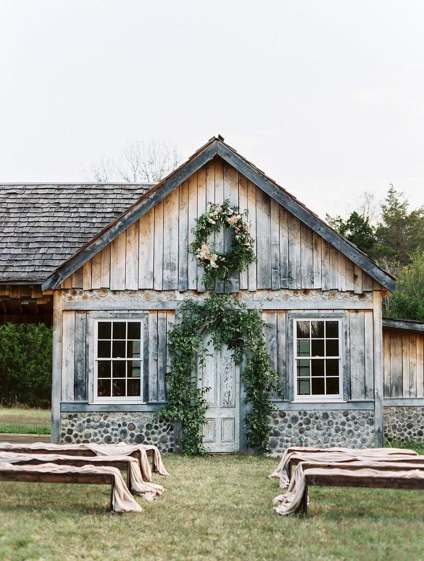 Vintage Hochzeit Altar