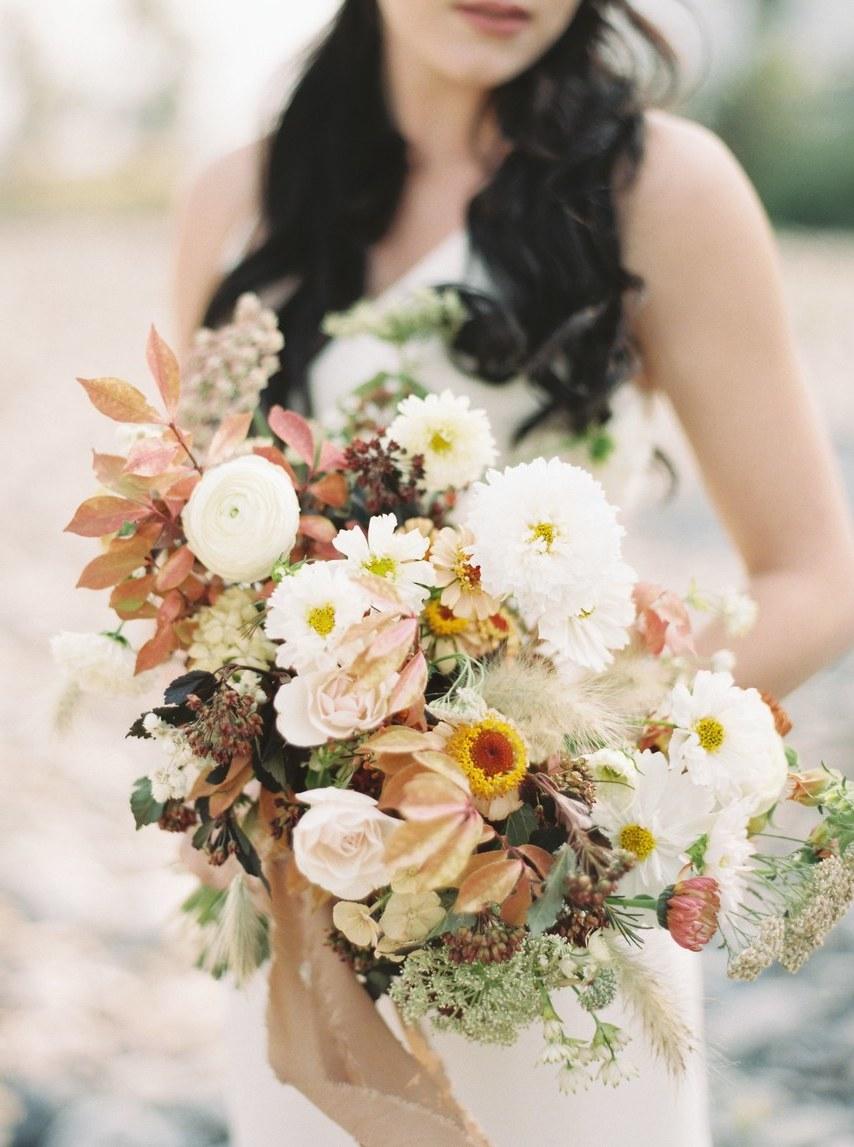 Blumenstrauß für eine Hochzeit Vintage