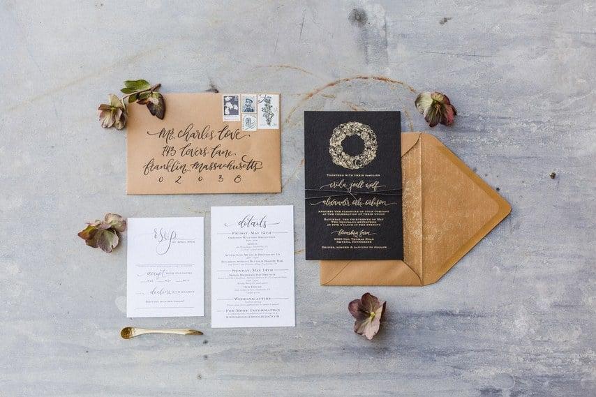 Tolle Ideen für Hochzeitseinladung Vintage