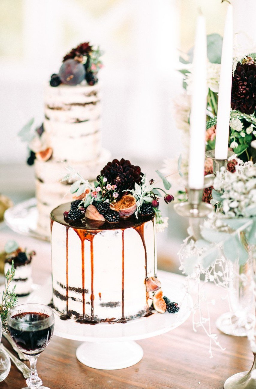 Hochzeitskuchen für eine Vintage Hochzeit