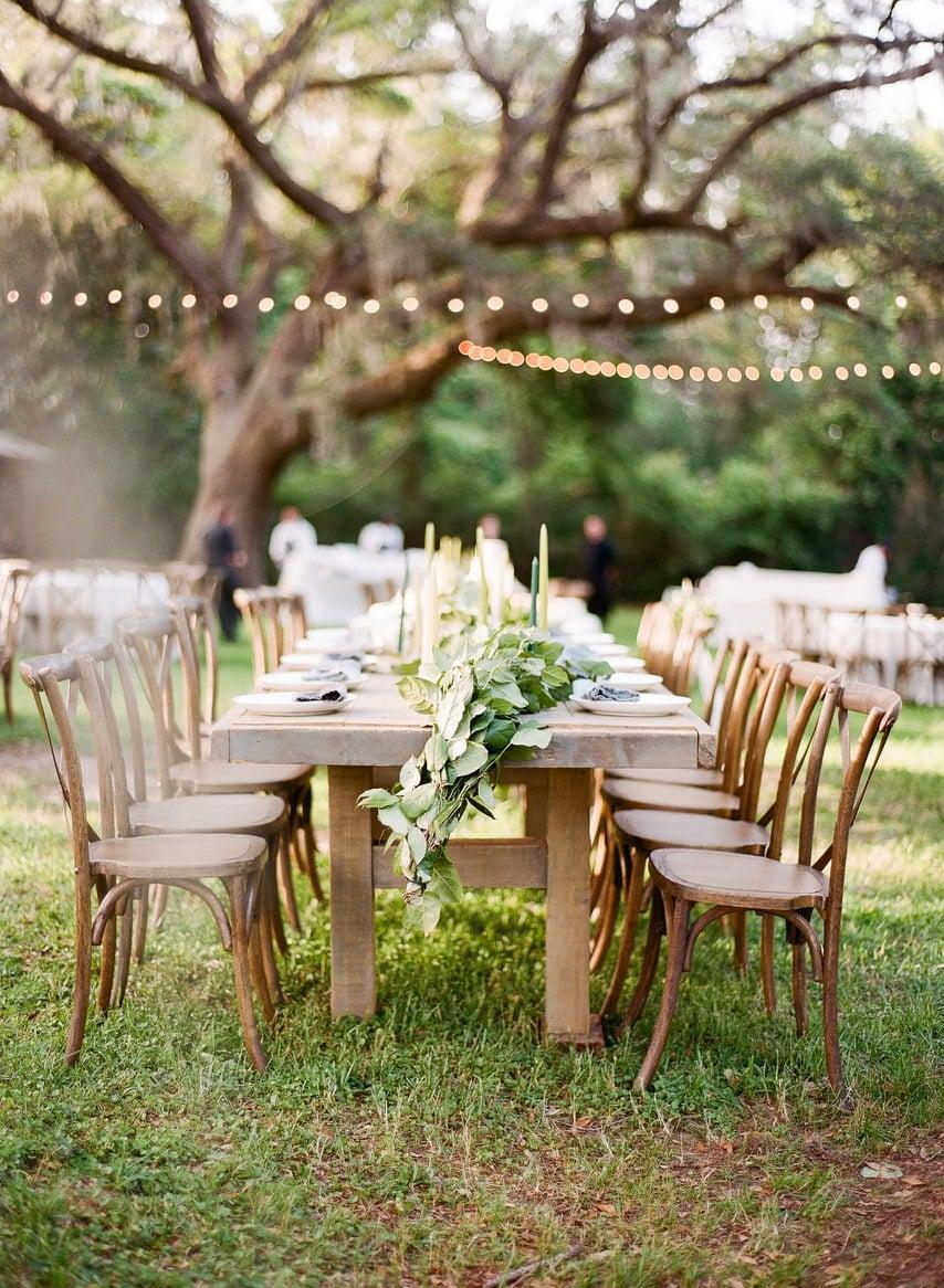 Vintage Hochzeitsdeko für eine Hochzeit im Herbst