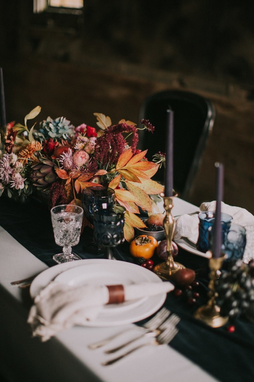 Ideen für Tischdeko Hochzeit Vintage