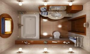 Ein kleines Bad kann alle Ihre Träume und Bedürfnisse erfüllen und Ihnen den vollen Badegenuss auf wenige Quadratmeters bieten.
