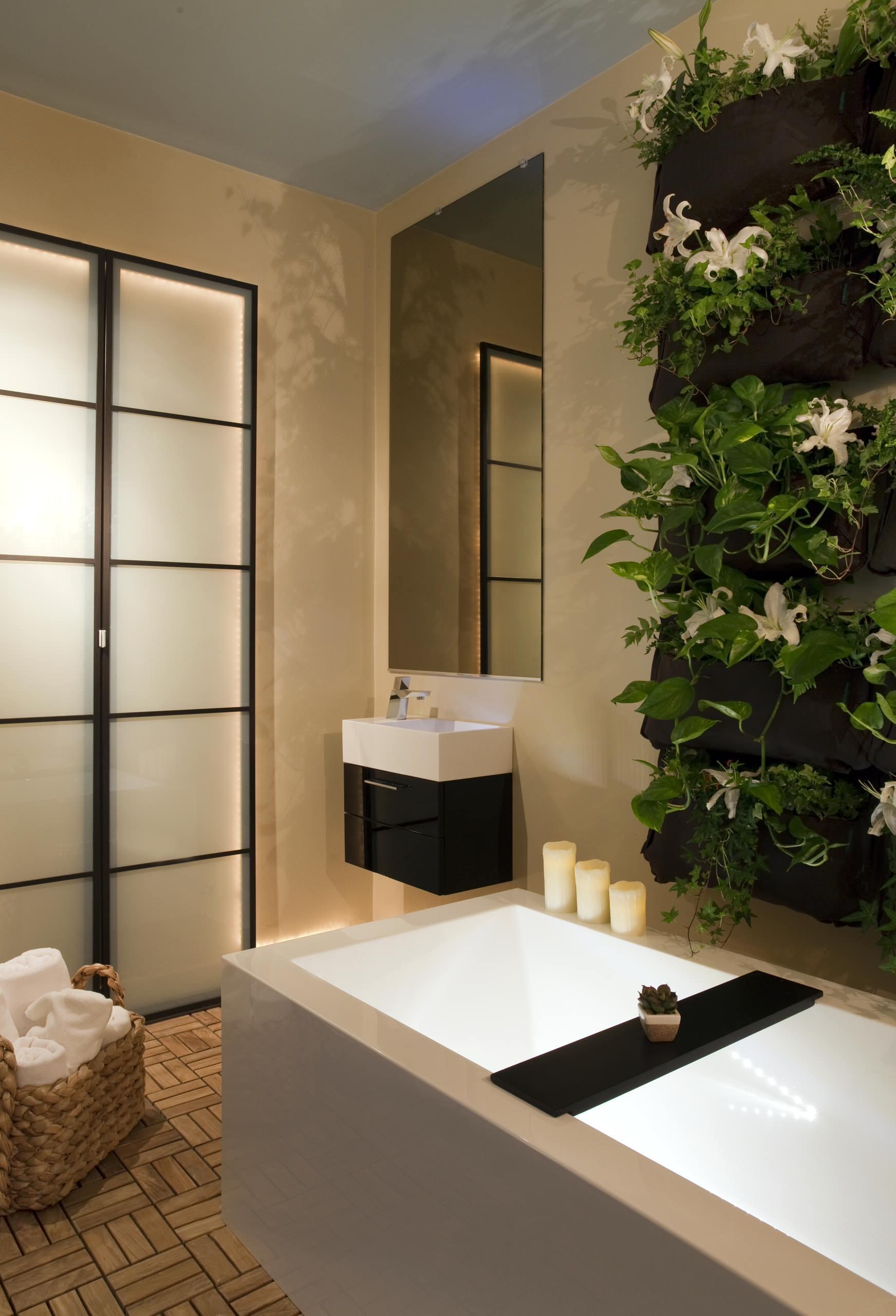 Ein kleines Bad zum Wellenesstempel: Voller Genuss und elitärem Lebensstil auf 8 m²