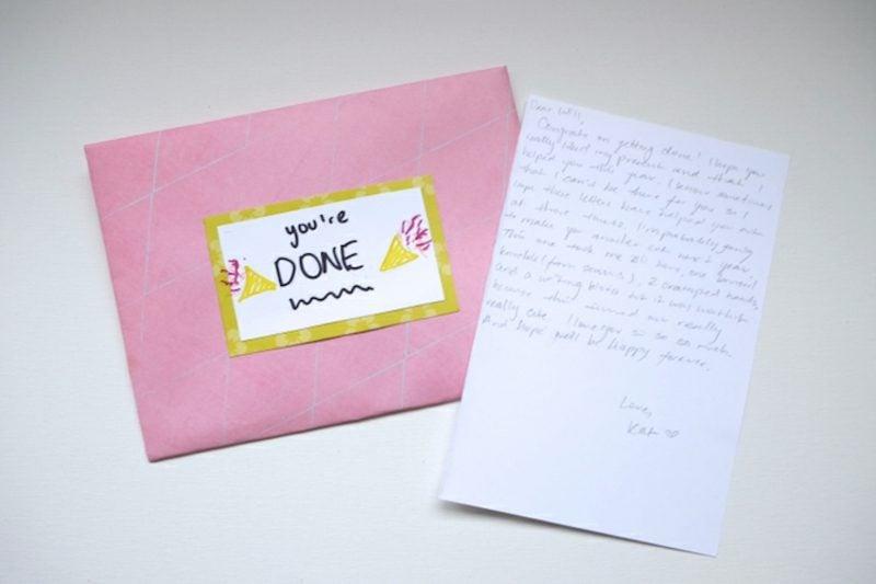 Ӧffne mich wenn Briefe letzter Brief