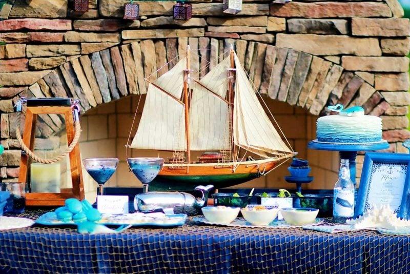 Bastelideen für Erwachsene Sommer maritime Deko machen