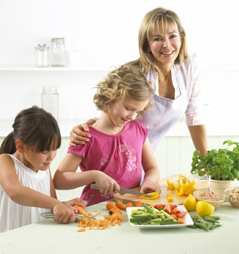 gemeinsam kochen mit den Kindern wie geht es