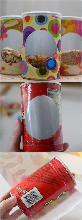 Aus macht neu Ideen - DIY Ideen mit Pringles Dose