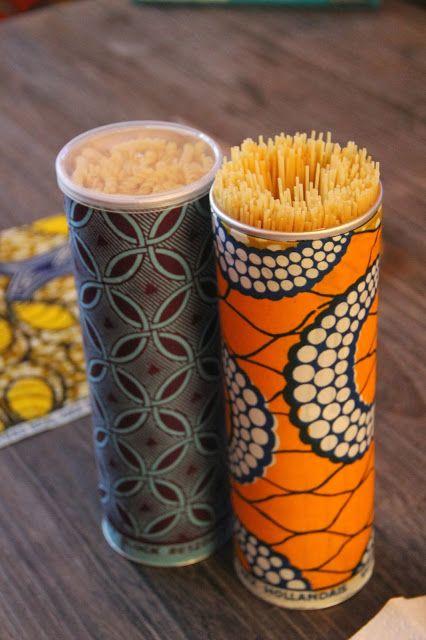 Pasta Box selber machen - Pringles Dosen basteln