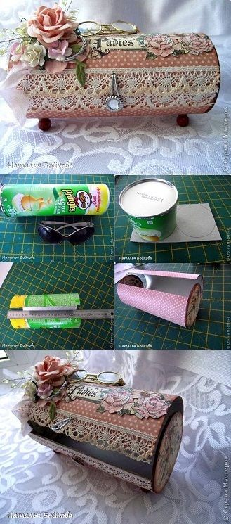 Coole Sachen mit Pringles Dosen basteln