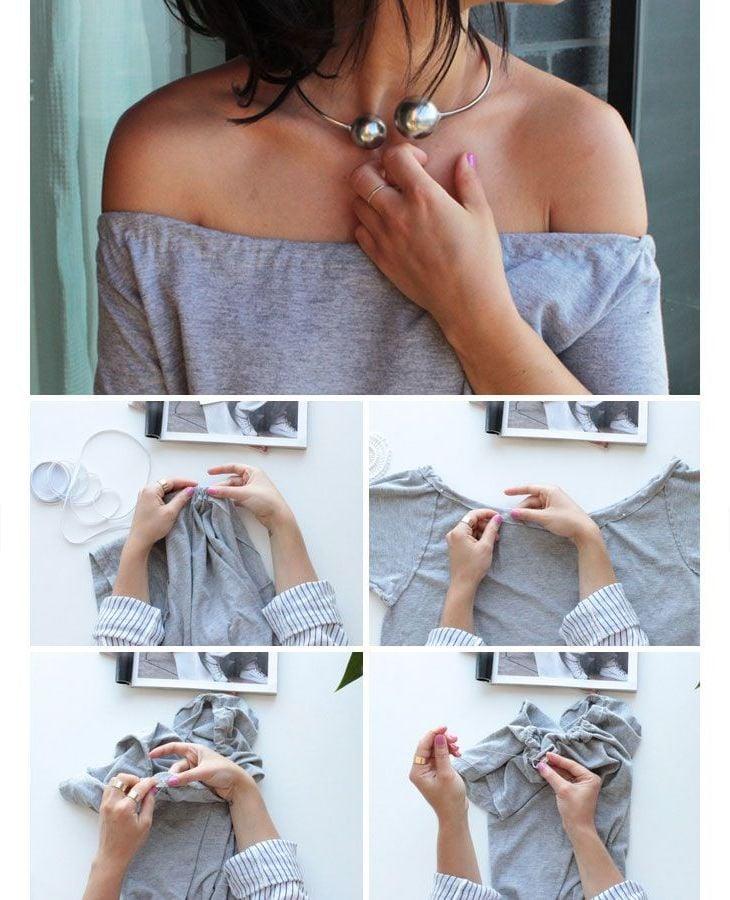 Klamotten umnähen: Upcycling Fashion