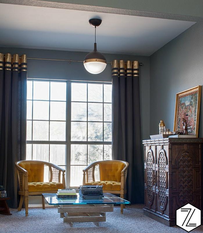 Schritt für Schritt: Wie peppen Sie die Vorhänge auf, um Ihr Wohnzimmer modern gestalten zu können