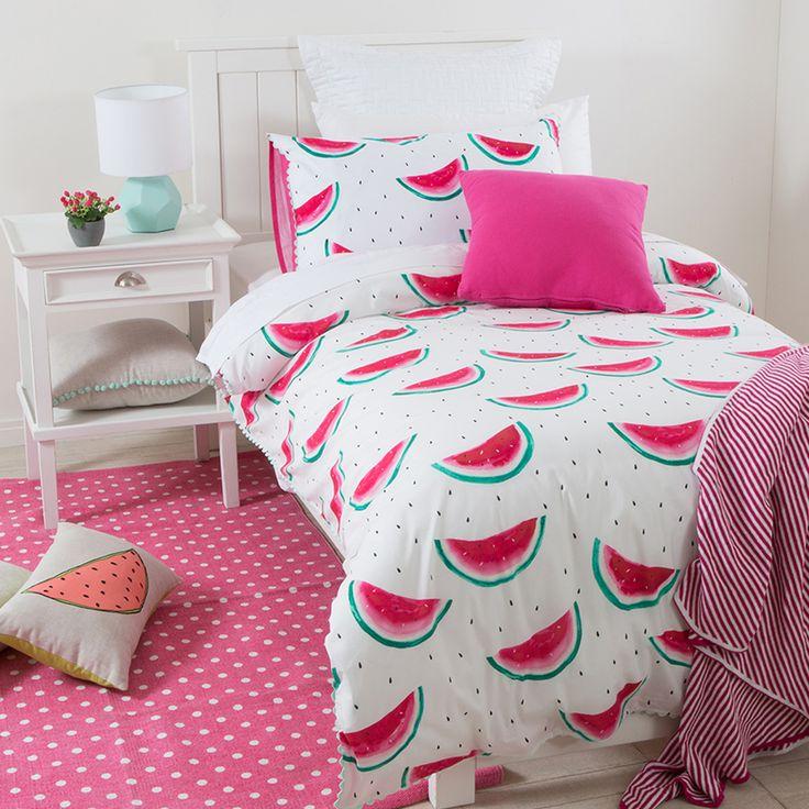 Wohnideen für Schlafzimmer Einrichtung: Unser Team wünscht Ihnen süße Wassermelonenträume