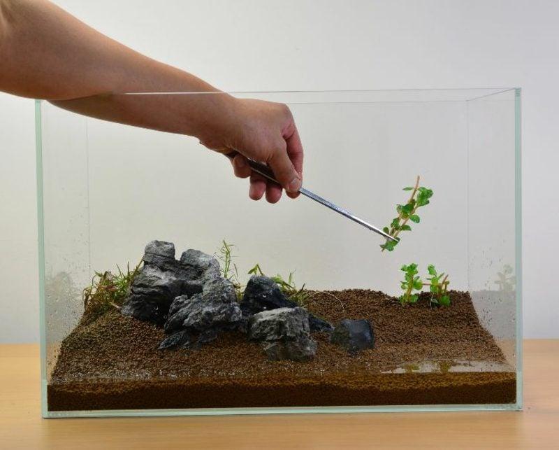 Aquarium Deko Softscape Wasserpflanzen