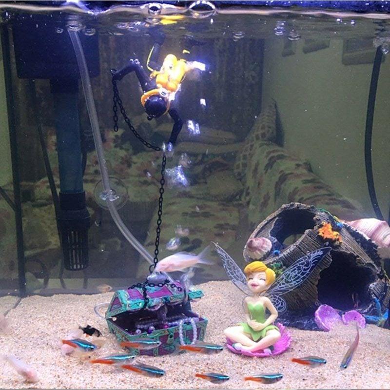 Aquarium Deko originell eindrucksvoll