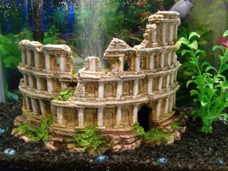 Aquarium Deko Kolloseum